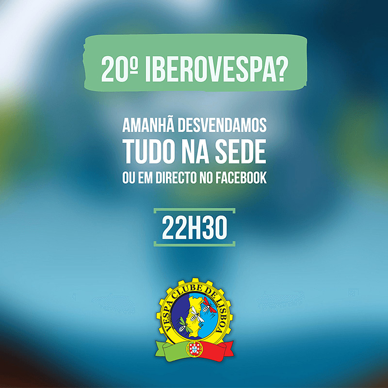 Apresentação 20º IberoVespa, 2017
