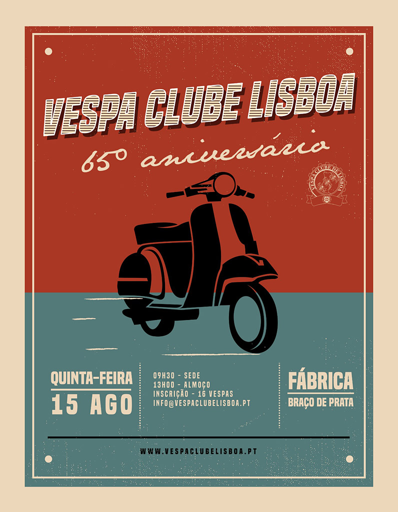 Vespa Clube de Lisboa, 65 anos